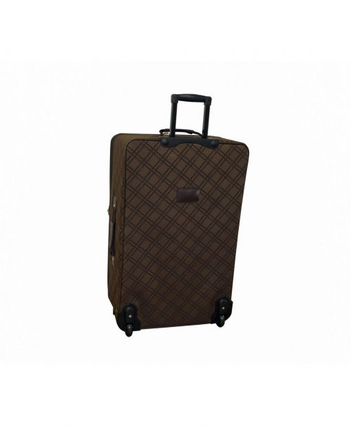 American Flyer Pemberly Buckles Chocolate 5-Piece Luggage Set