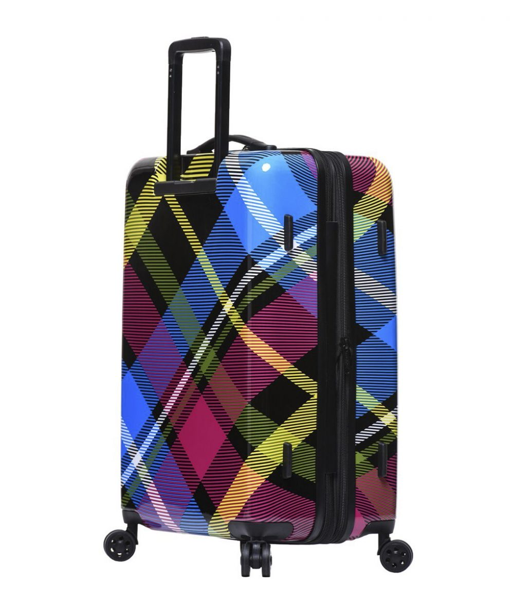 "Body Glove Tartan 26"" 8-Wheel Hardside Spinner"