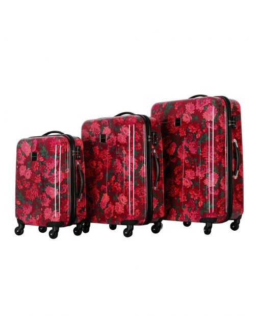 "Isaac Mizrahi Irwin 2 Berry Hardside 22"" 4-Wheel Spinner"