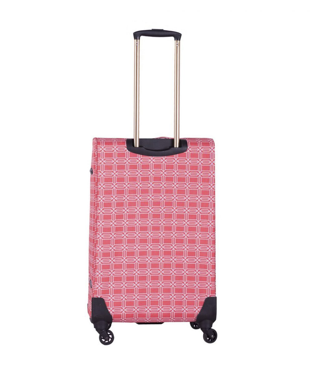 "Jenni Chan Hanover Coral 28"" 4-Wheel Spinner Upright"
